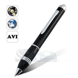 SUPER SLIM MOTION DETECTION PINHOLE PEN AUDIO/VIDEO RECORDER (CCTV)#
