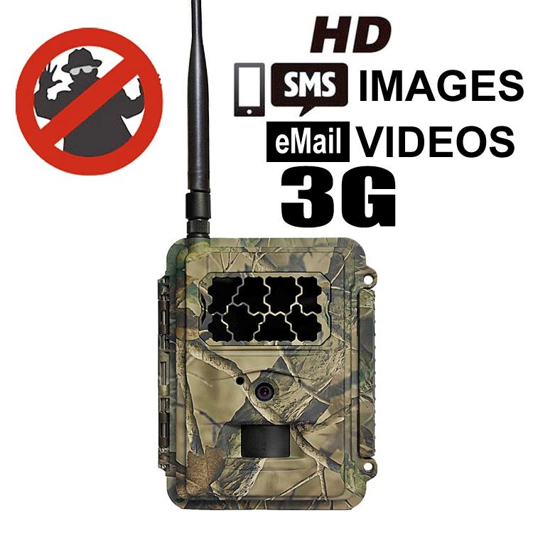 3G HD 12MP Security Graffiti Cam