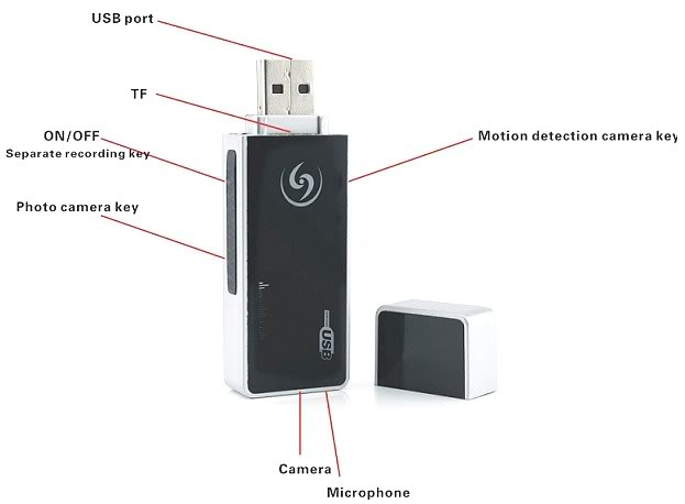 HD USB Disk Camera DVR 03