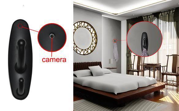 Clothes Hook Mini Recorder Spy Camera 01