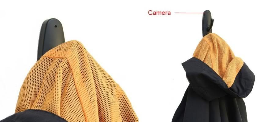 Clothes Hook Mini Recorder Spy Camera 03