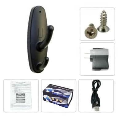 Clothes Hook Mini Recorder Spy Camera 04