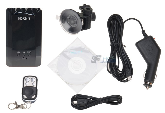 Night Vision Power Bank Spy Camera with Motion Detection