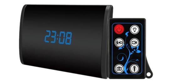 HD 1080P NO Glow IR Clock Camera 1