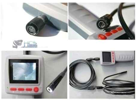 Borescope Snake Camera with LCD Monitor