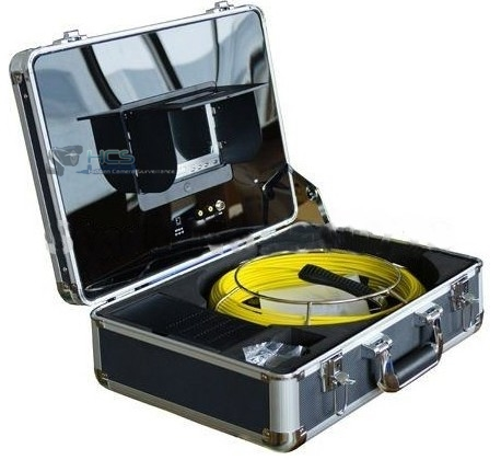Professional 20m Pipe Inspection Camera & Monitor Kit