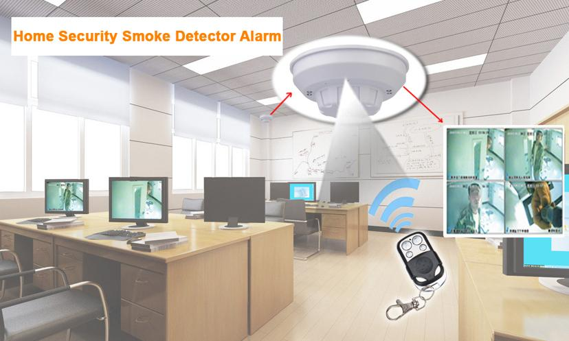 Smoke Detector Spy Camera