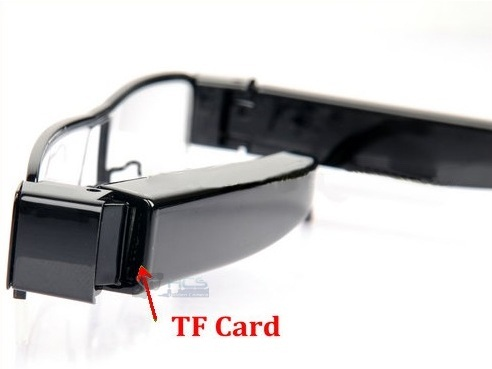 1080P Clear Lens Hidden Camera Spectacles