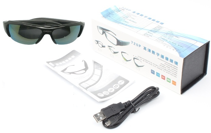 Sunglasses HD 720P Spy Camera Recorder