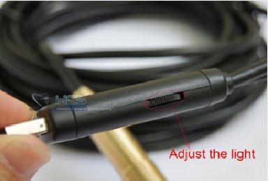 Underwater 5M LED Endoscope PC camera