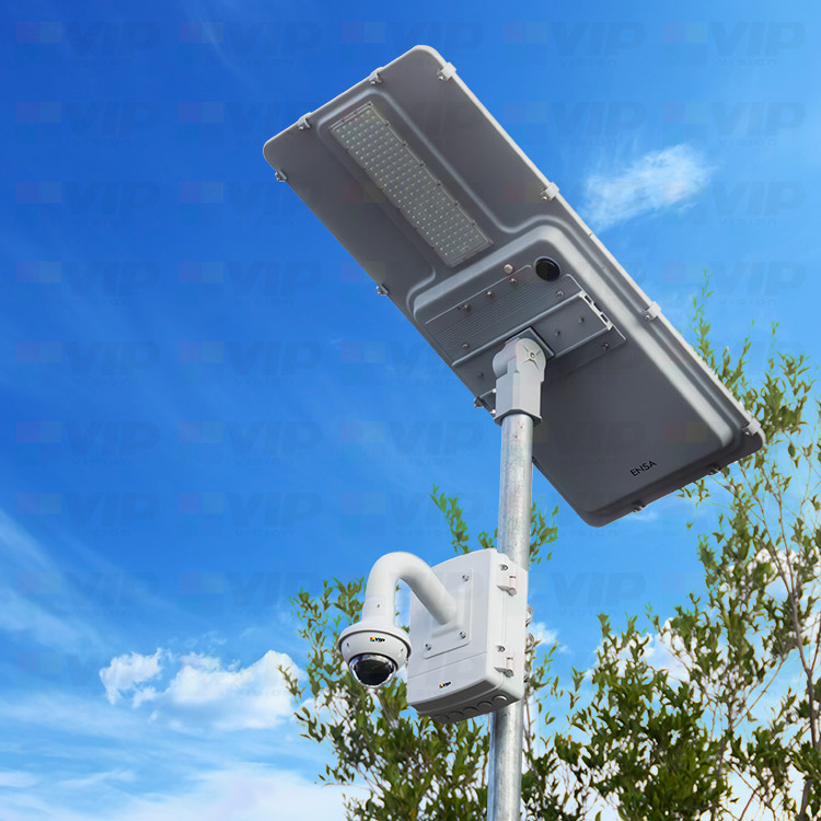4G PTZ Solar Security Camera